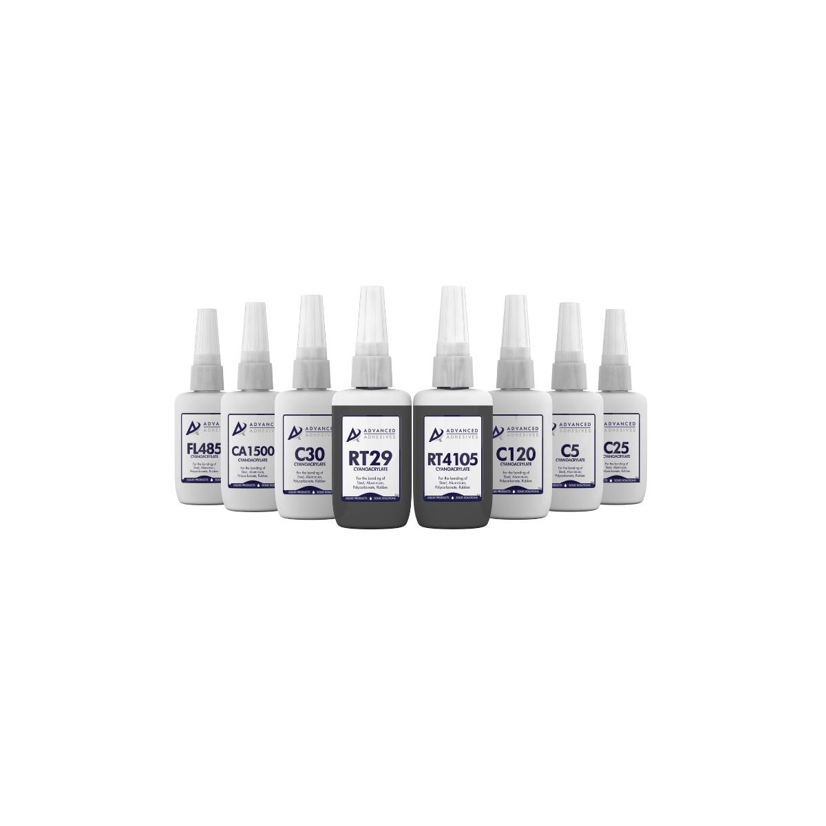 Advanced Adhesives Bottles