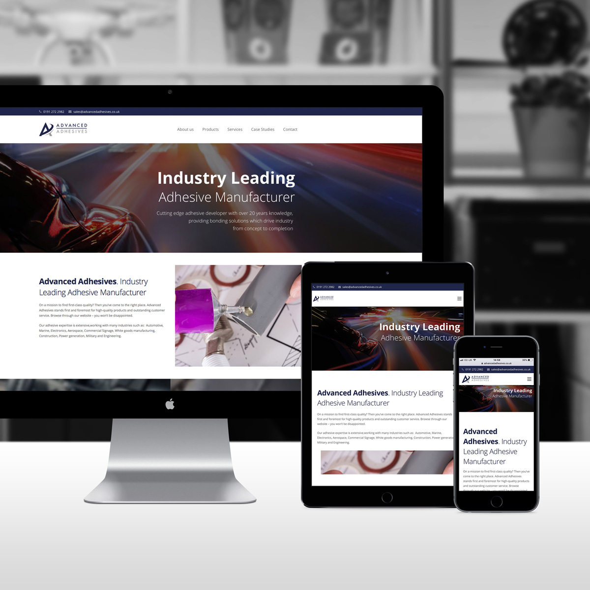 Advanced Adhesives New Website