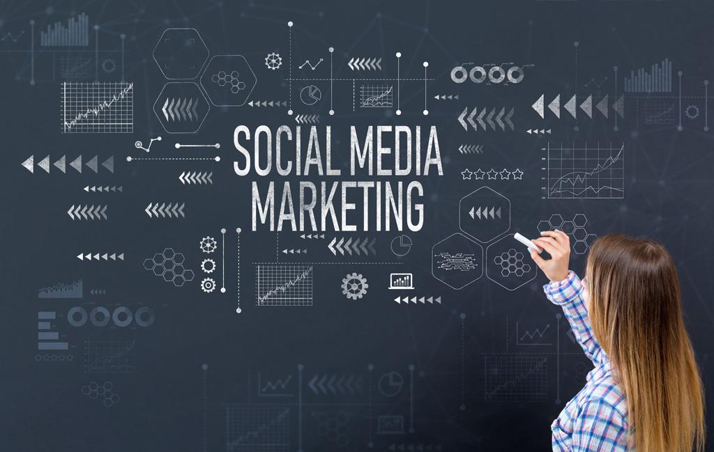 Social Media Marketing on Black Board