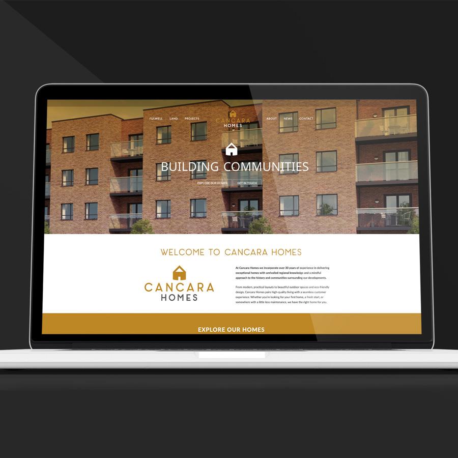 Cancara Homes Web